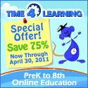 Special April Discount for Time4Learning