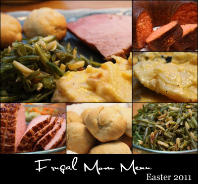 Free Easter Dinner Menus with Recipes and Grocery Lists