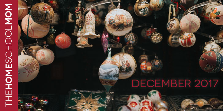 TheHomeSchoolMom December Newsletter