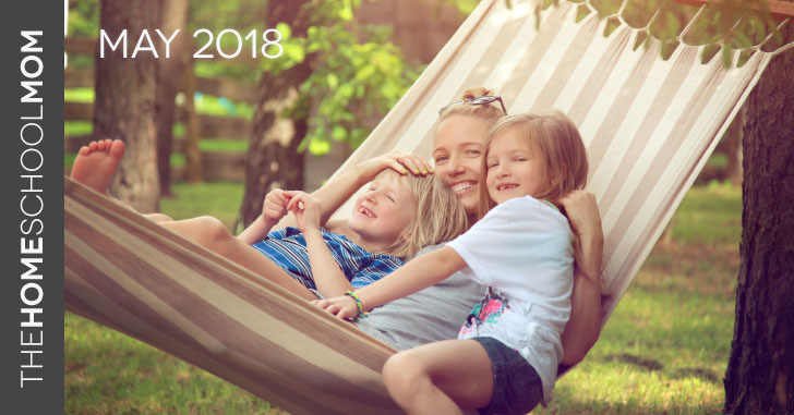 TheHomeSchoolMom May Newsletter