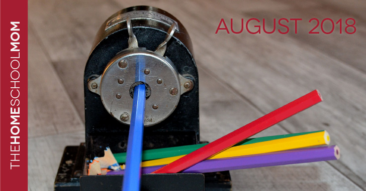 TheHomeSchoolMom August Newsletter