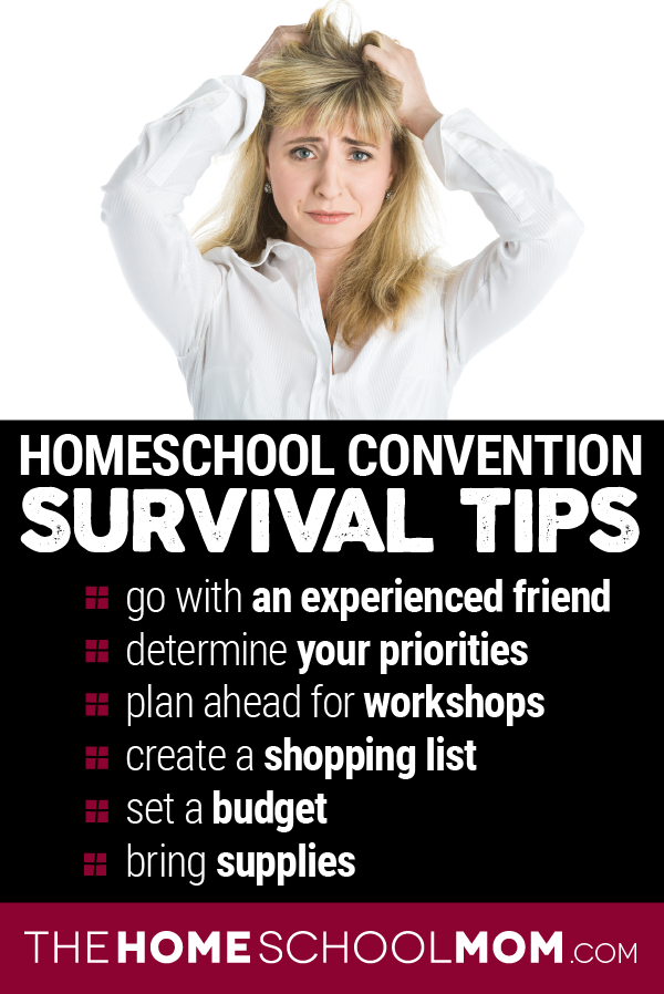 Homeschool Convention Survival Tips