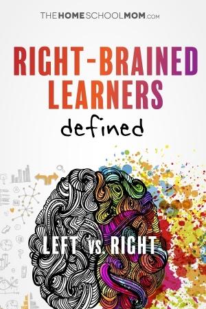 Right brain learner characteristics