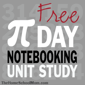 TheHomeSchoolMom: Free Pi Day Notebooking Unit Study