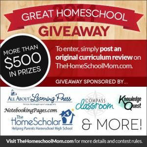 TheHomeSchoolMom's 2014 Great Homeschool Giveaway