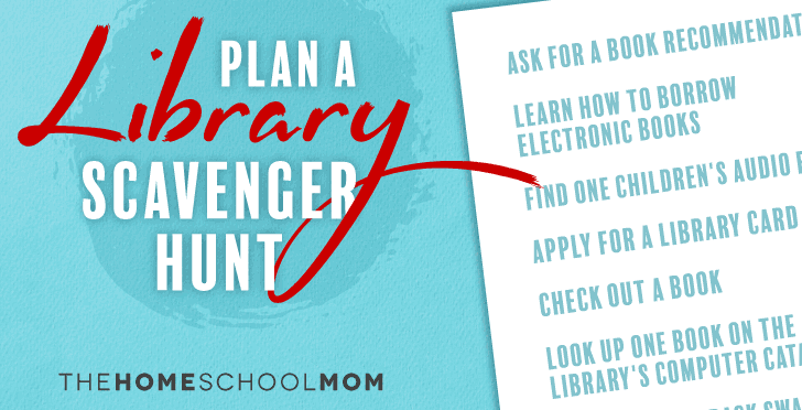 Plan a Library Scavenger Hunt