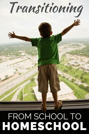 TheHomeSchoolMom Blog: Transitioning from School to Homeschool