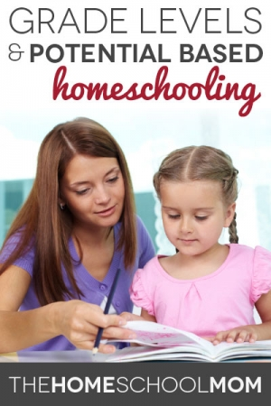 TheHomeSchoolMom Blog: Homeschooling, grade levels, and potential based learning