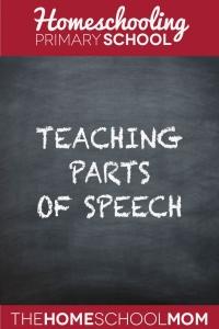 TheHomeSchoolMom Blog: Teaching Parts of Speech