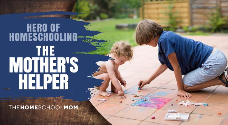 TheHomeSchoolMom Blog: The Mother's Helper - Hero of Homeschooling