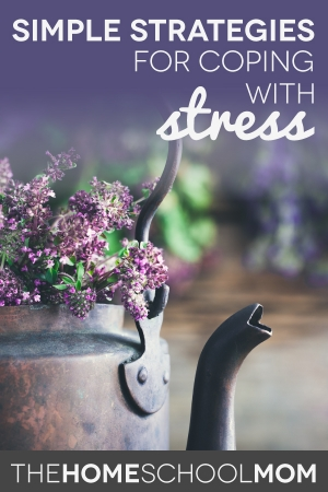 TheHomeSchoolMom: Simple Strategies for Coping with Stress