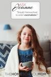 Homeschooling and immunizations