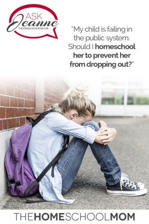 Homeschooling to Prevent Dropping Out of High School