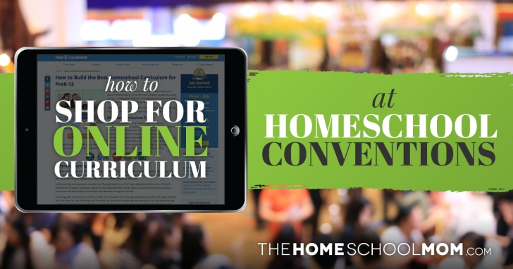 How to Shop for Online Curriculum at a Homeschool Convention