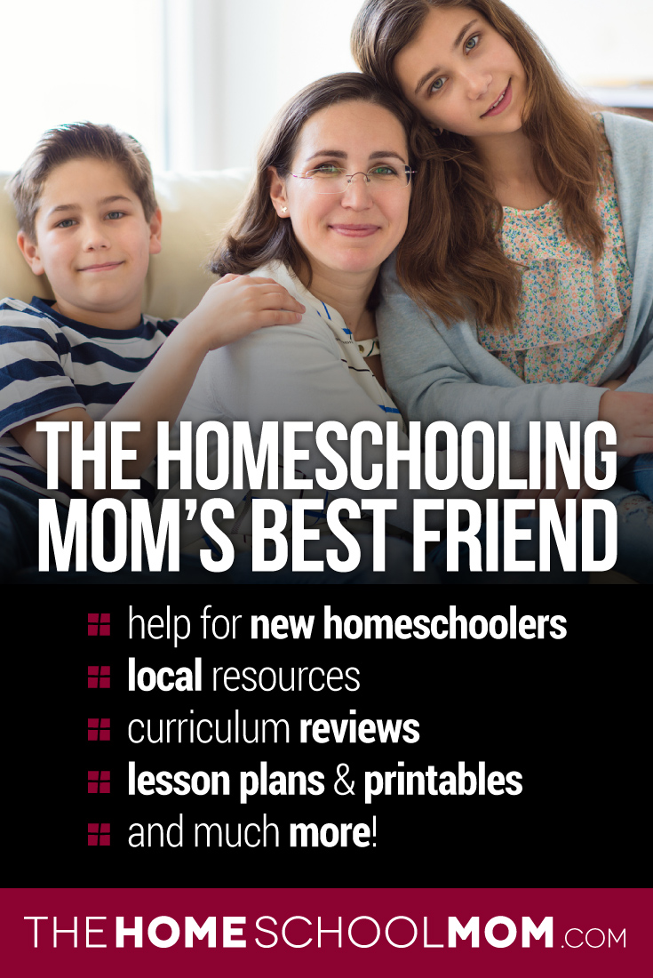 The Homeschooling Mom's Best Friend: Help for new homeschoolers, local resources, curriculum reviews, lesson plans & printables, and much more!