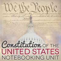 TheHomeSchoolMom: US Constitution Unit Study