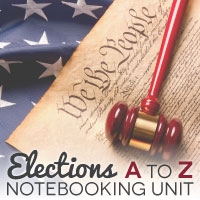 TheHomeSchoolMom: Elections A to Z Unit Study