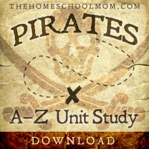 TheHomeSchoolMom: Pirates A to Z Unit Study