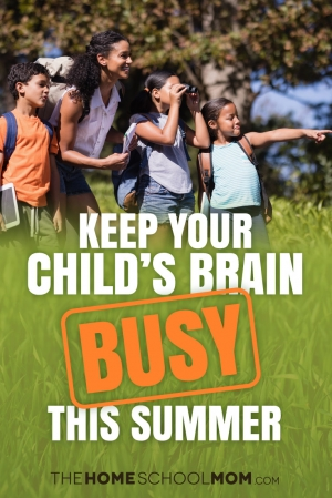 Keep Your Child's Brain Busy This Summer With These Fun Activities