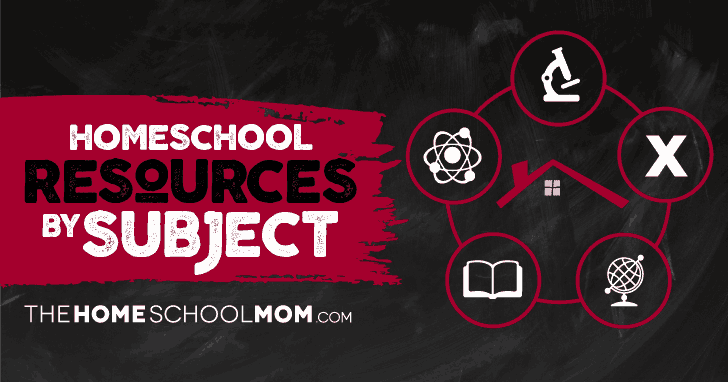 Homeschool Resources by Subject