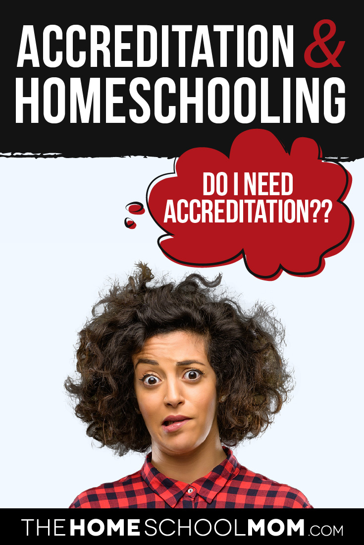 Accreditation & Homeschooling - Woman wondering,