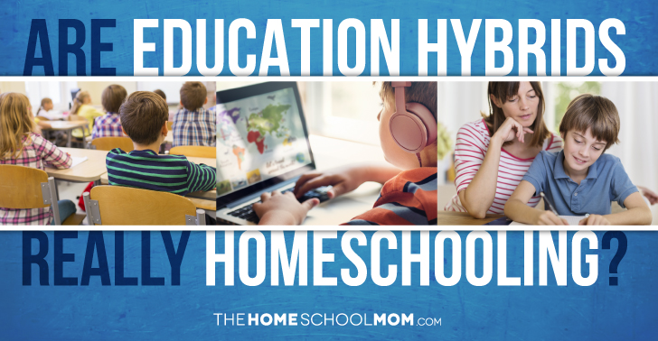 """Homeschooling"" Hybrids - Are education hybrids really homeschooling?"