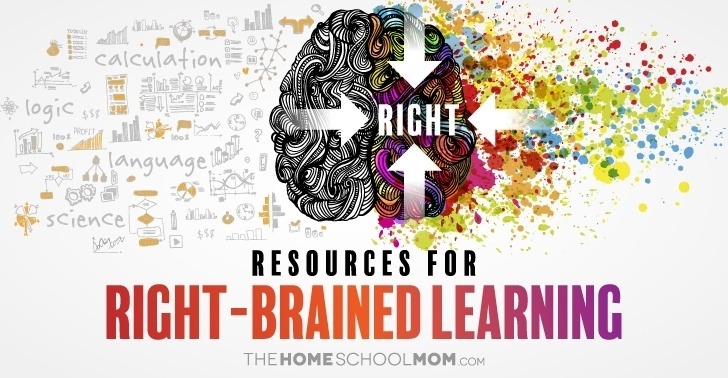Resources for right-brained learning