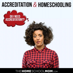 """Accreditation & Homeschooling - Woman wondering, """"Does my homeschool need to be accredited?"""""""