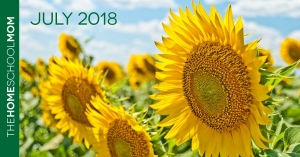 TheHomeSchoolMom Newsletter - July 2018