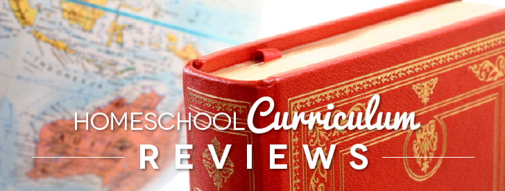 Globe and red book with text Homeschool Curriculum ReviewsHomeschool Curriculum Reviews
