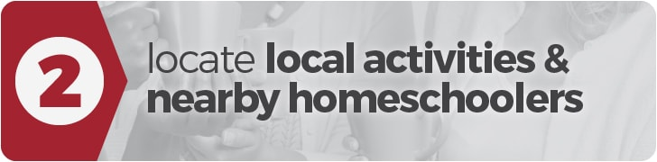 Get Started Homeschooling: Step 2 - Locate local activities and nearby homeschoolers