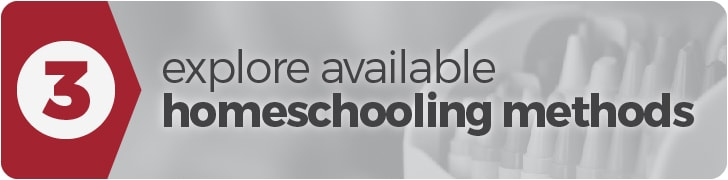 Get Started Homeschooling: Step 3 - Explore available homeschooling methods