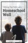 Hitting the February Homeschool Wall
