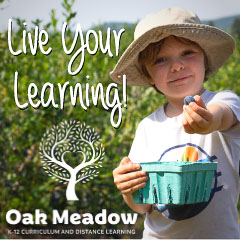 Live your learning! Oak Meadow k-12 curriculum and distance learning