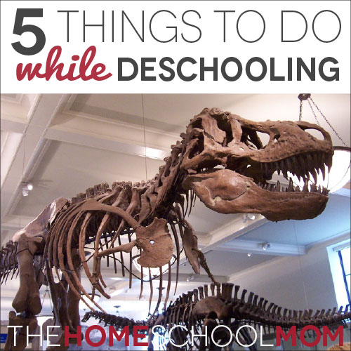 5 Things to Do While Deschooling