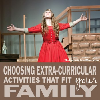 TheHomeSchoolMom: Choosing Extra-Curricular Activities For Kids