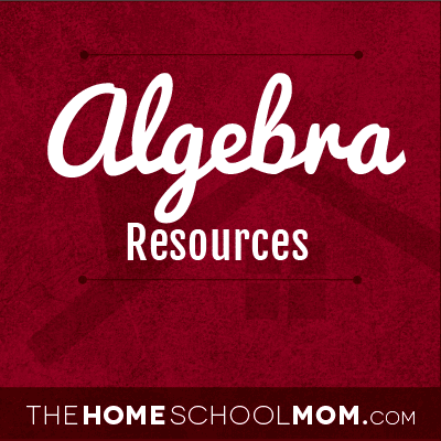 Resources for studying algebra