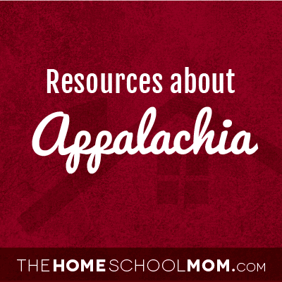 Resources for studying about Appalachia