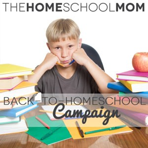 My Back-to-Homeschool Campaign