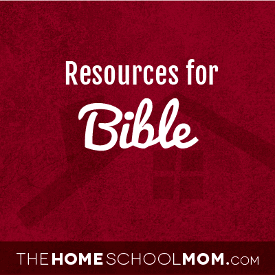 Resources for studying the Bible