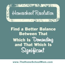 TheHomeSchoolMom: Homeschool Resolutions