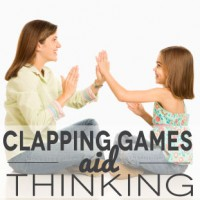 Clapping Games Aid Thinking