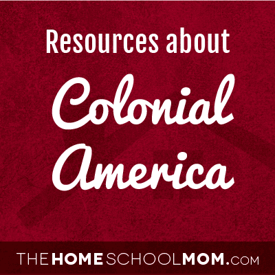 Resources about Colonial America
