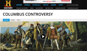 Resource of the Week: Columbus Day Controversy