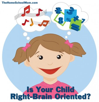 TheHomeSchoolMom - Is Your Child Right-Brained? Take this right-brain left-brain test.