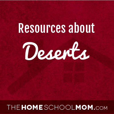 Resources about deserts