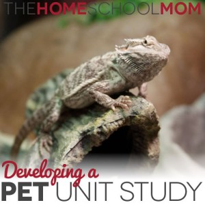 TheHomeSchoolMom Blog: Pet Unit Study Ideas