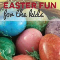 Easter Fun For The Kids