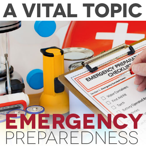 Emergency Preparedness: A Vital Unit Study Topic
