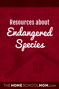 Resources about endangered species